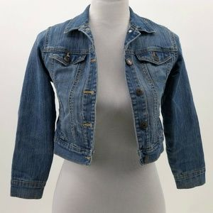 Old Navy kids sz 8 Med denim jean jacket